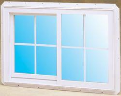 Crestline 36 Select 200 Single Gliding Window 36x36 129 00 With Grilles Slider Window Window Vinyl Windows