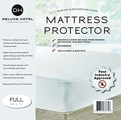 Amazon Com Ultimate Bed Bug Blocker Zippered Mattress Protector Twin Home Amp Kitchen
