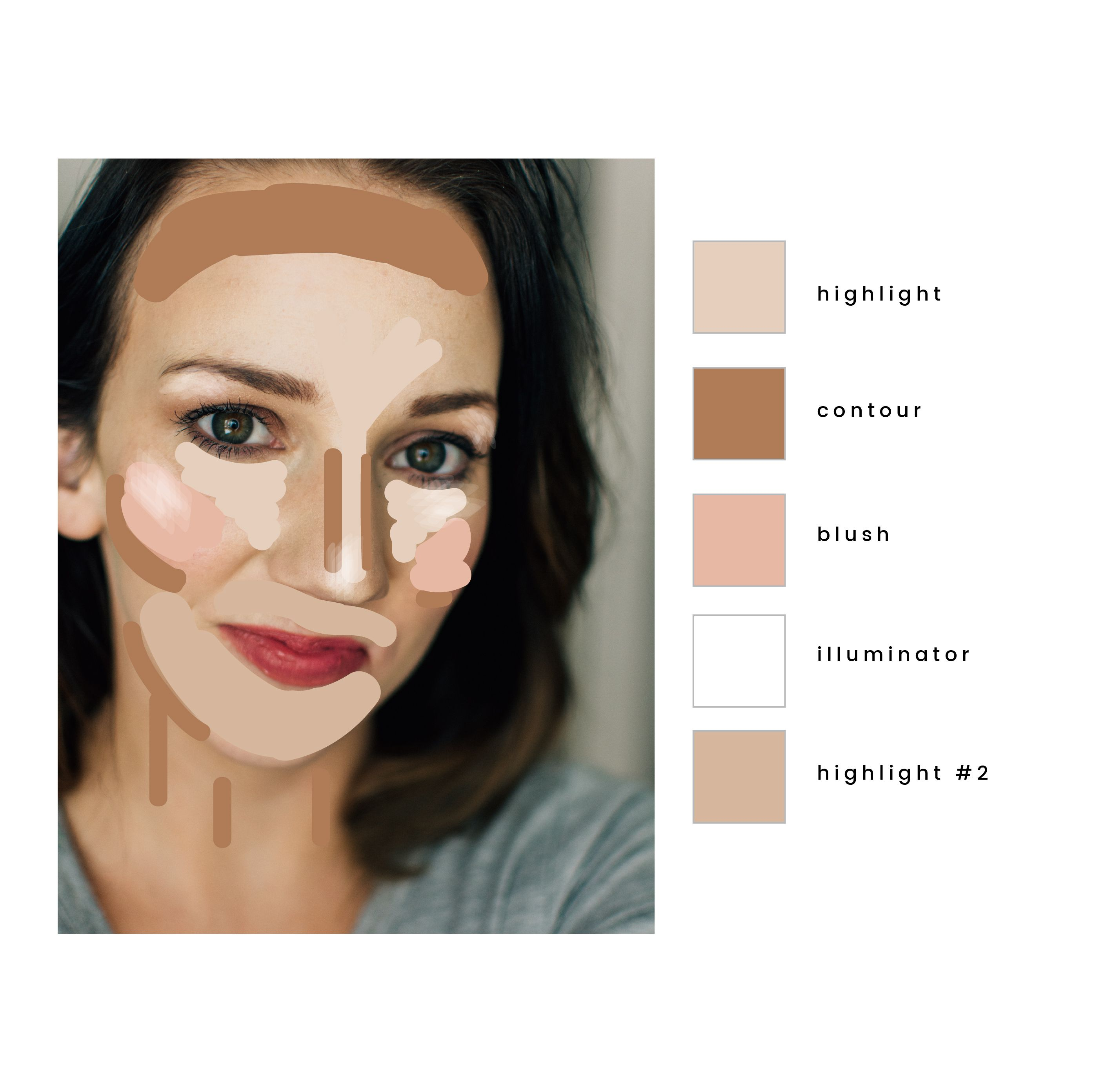Watch This Video To Find Out How Easy It Is To Highlight And Contour