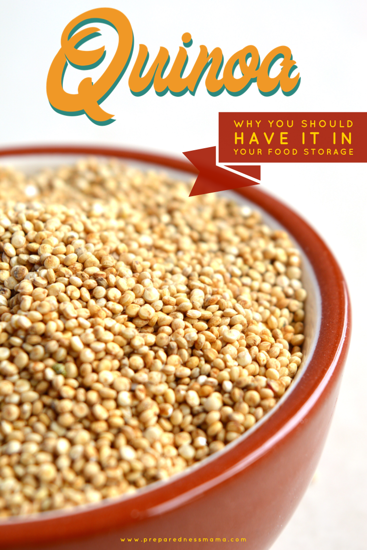 Quinoa in Food Storage  PreparednessMama Quinoa KEENwah is a healthy addition to your food storage So if you love this versatile and you want to prep your long term stora...