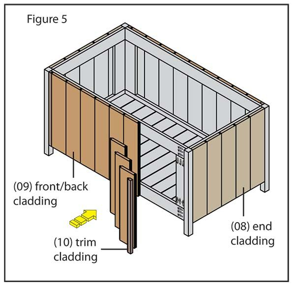 How To Build A Deck Storage Box Lowe S Creative Ideas Building