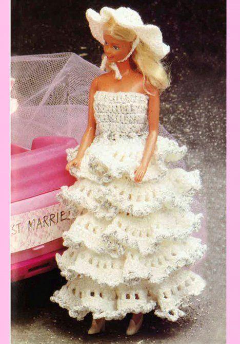 Virkkaa Barbielle mekko | Kodin Kuvalehti