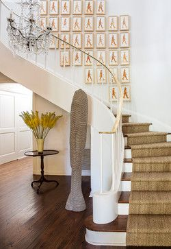 Best Beverly Hills Regency Transitional Staircase Los 400 x 300