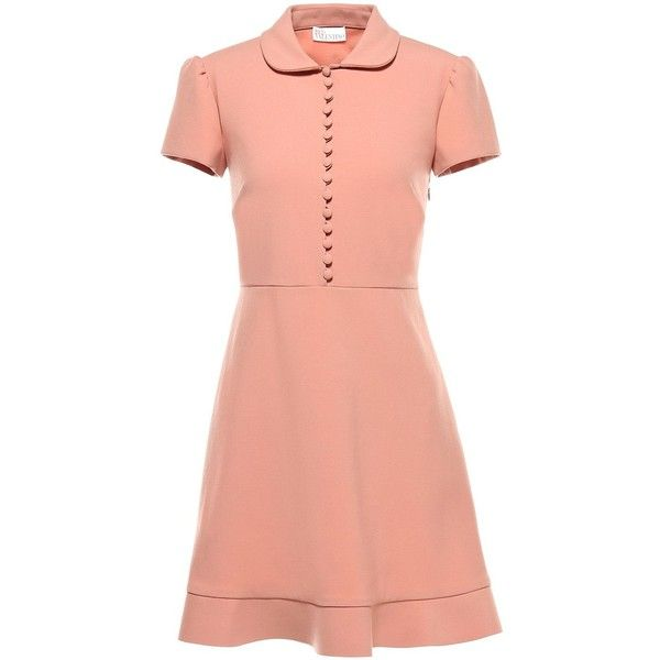 Cheap Red Valentino Black Fit And Flare Button Up Dress For Women Selling Well
