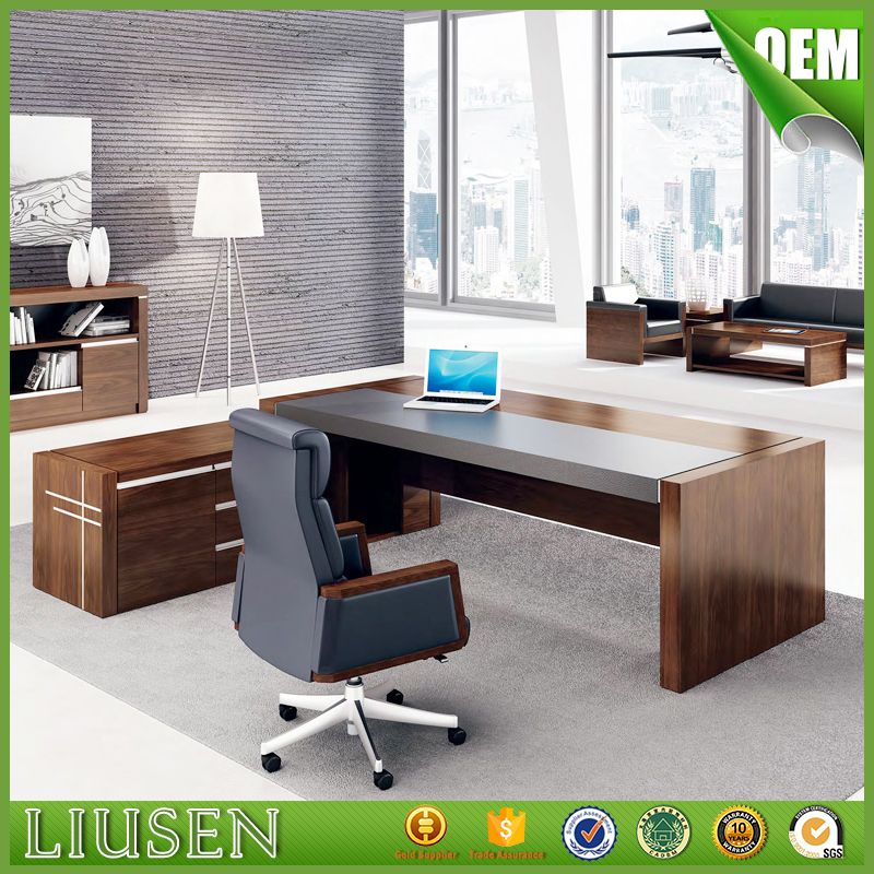 High Gloss Ceo Office Furniture Luxury Office Table Executive Desk - High top office table