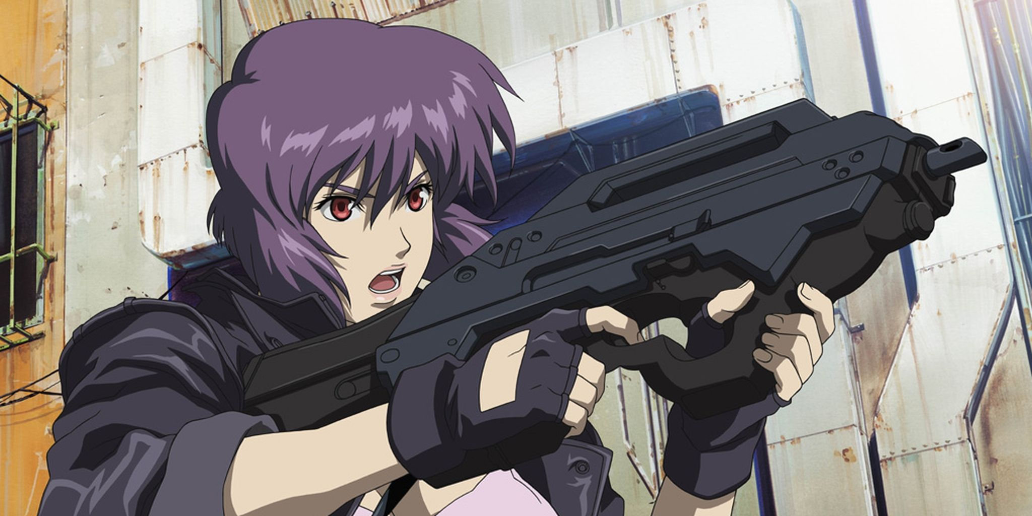 Motoko kusanagi ghost in the shell anime hd anime
