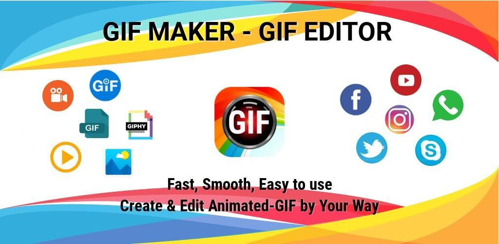 Gif Maker Gif Editor Video Maker Video To Gif Pro V1 5 35 Full Unlocked Paid App Download Free Gif Maker Gif Editor Video Maker Video Editor Gif Creator