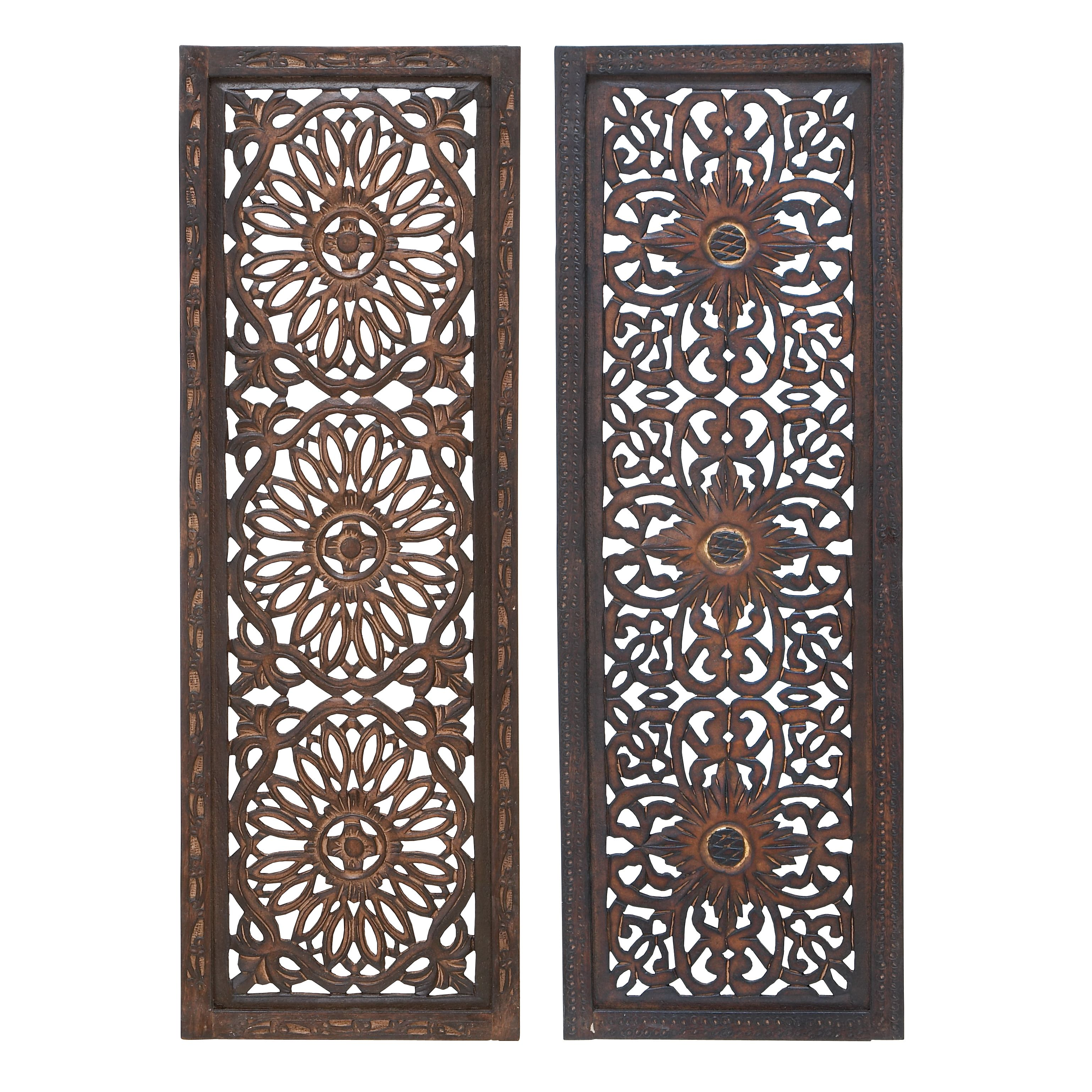 Piece wood wall panel by studio great deals sculpture and