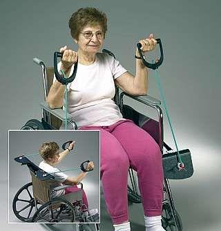 wheelchair exerciser enabler  senior safety  pinterest