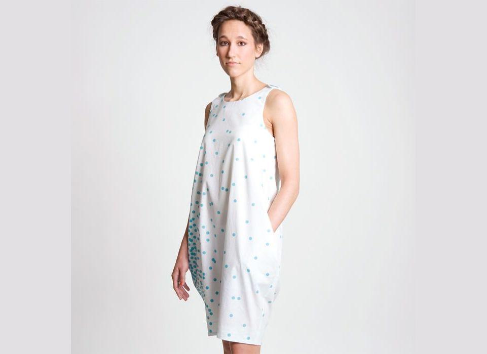 Schnittmuster Kleid Suse | www.pom-pon.ch | nähprojekte | Pinterest