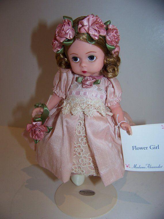 Flower girl Madame alexander 8 in doll | Etsy