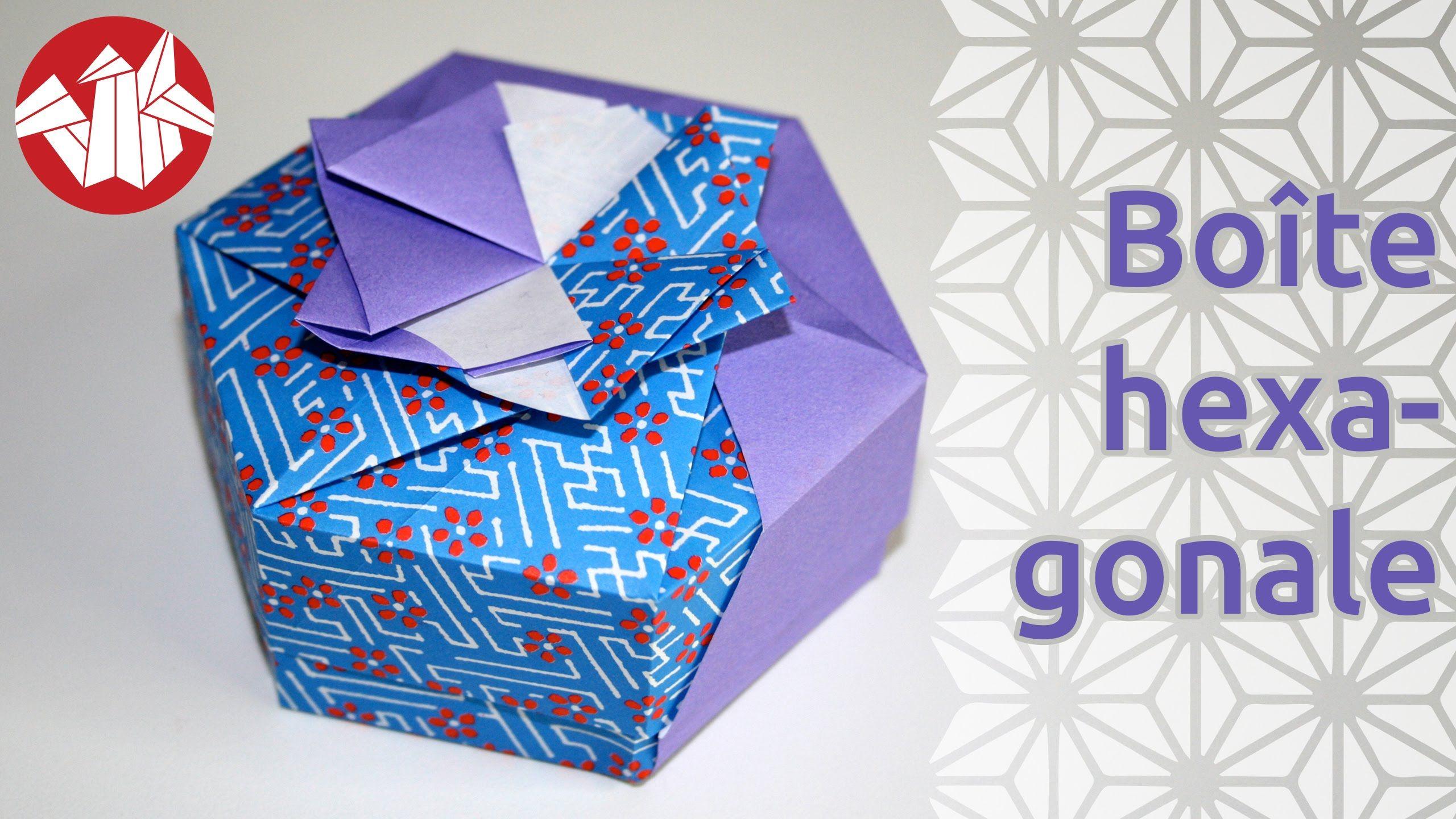 origami bo te hexagonale de tomoko fuse hexagonal box senbazuru origami pinterest. Black Bedroom Furniture Sets. Home Design Ideas