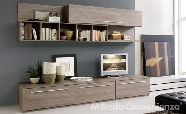 Mobile tv mondo convenienza in. Pin Su Living Rooms