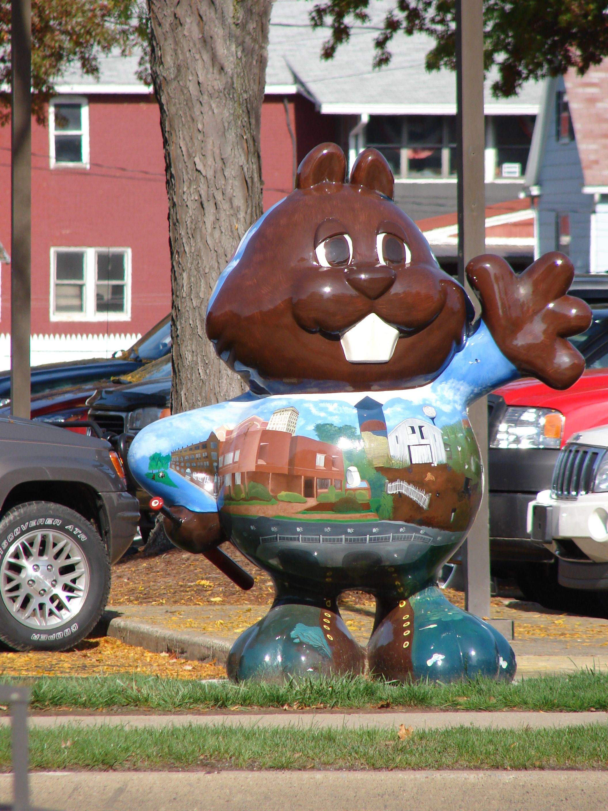 Punxsutawney, PA. there are 32 of these all around the