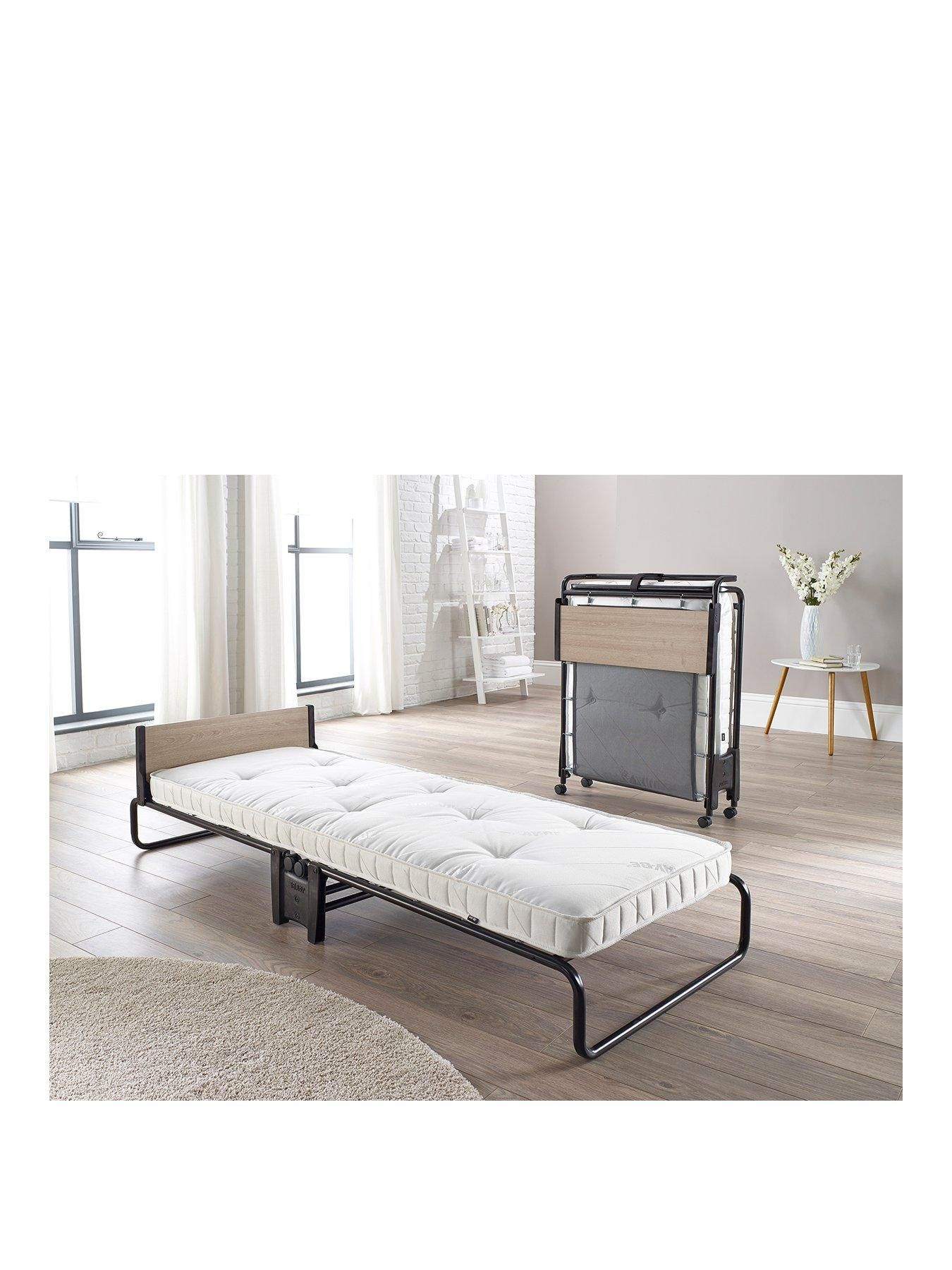 - Jaybe Revolution Folding Single Bed With Pocket Sprung Mattress