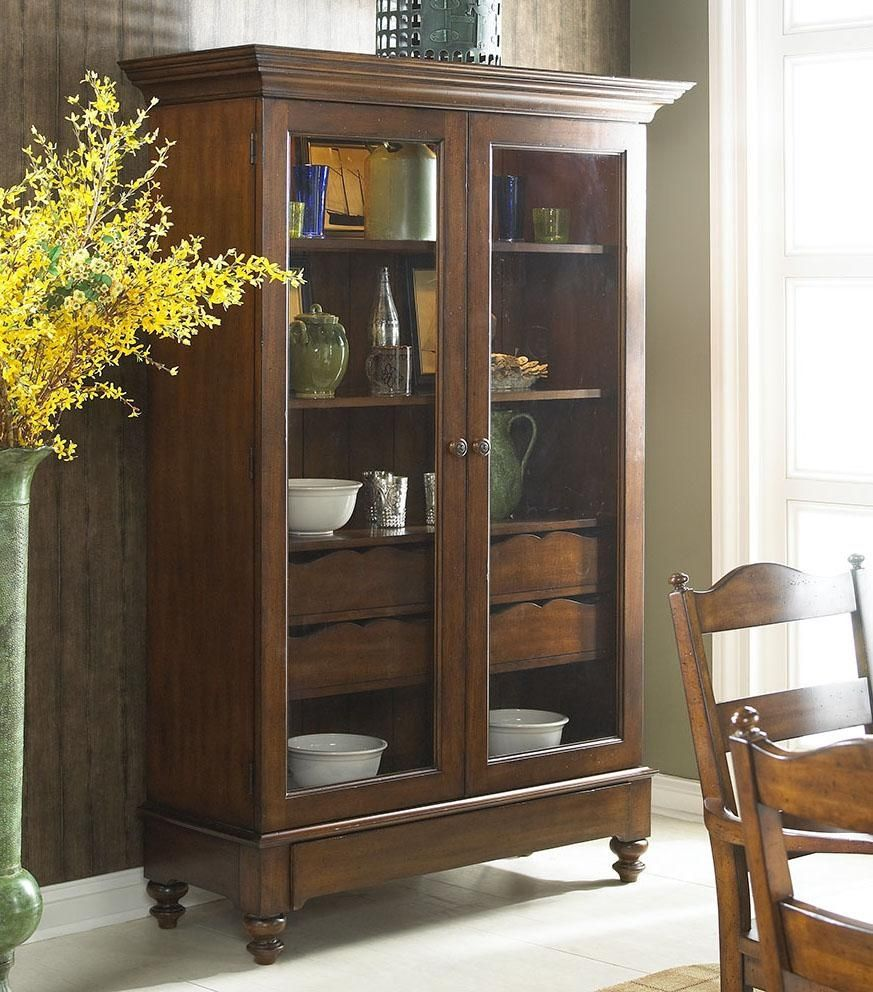 Living room storage cabinet with glass doors betdaffaires