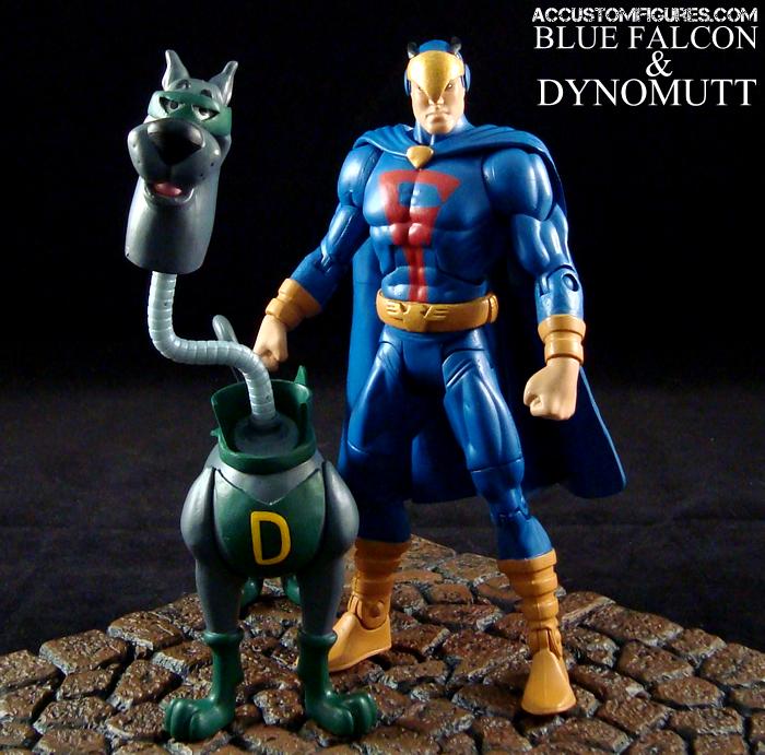 Blue Falcon And Dynomutt Hanna Barbera Space Ghost Custom Action Figure Custom Action Figures Classic Cartoon Characters Hanna Barbera Cartoons