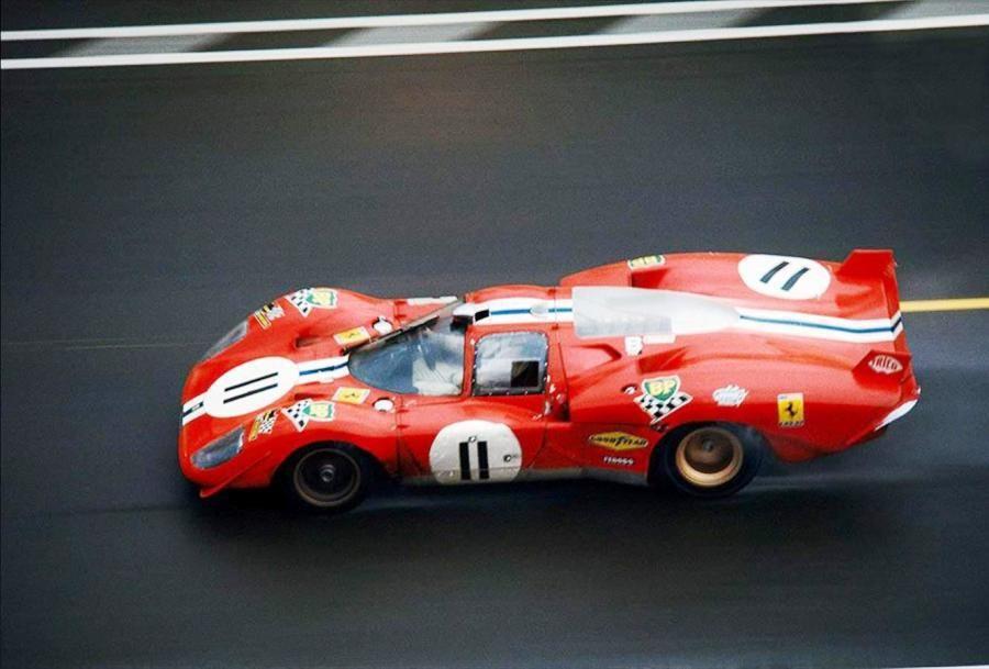 Ronnie Bucknum / Sam Posey, #11 Ferrari 512S (North American ...