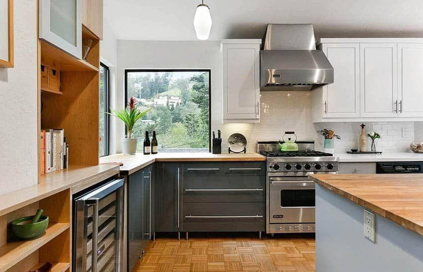 Decorating a Kitchen Corner Window in 2020   Kitchen ...