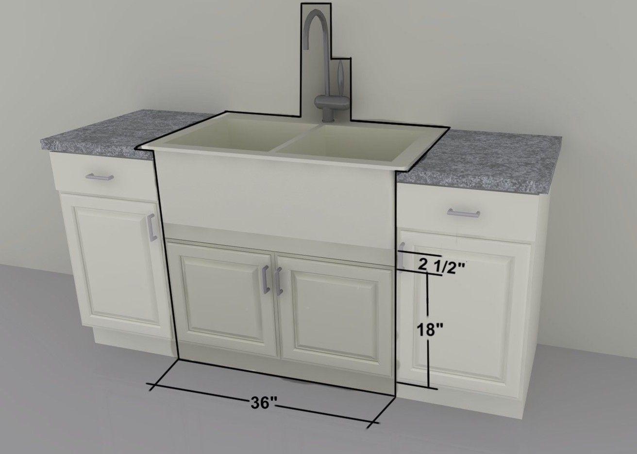 Ikea Kitchen Hack A Base Cabinet For Farmhouse Sinks And Deep Cooktops Ikea Sinks Ikea Farmhouse Sink Ikea Farm Sink