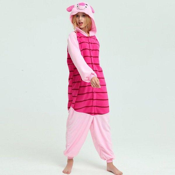 Winnie the Pooh   Tigger   Piglet   Eeyore Onesies for Adult Kigurumi Pajama f5f6ef727
