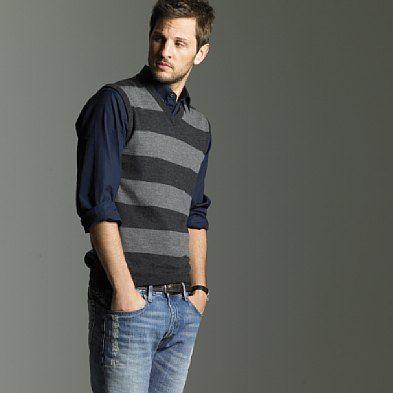 Sweater vest: staple of all good wardrobes | Cardigans For Men ...