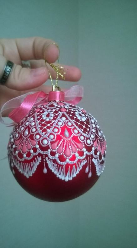 24 Super Ideas For Diy Christmas Ornaments Painted Gifts #christmasornaments