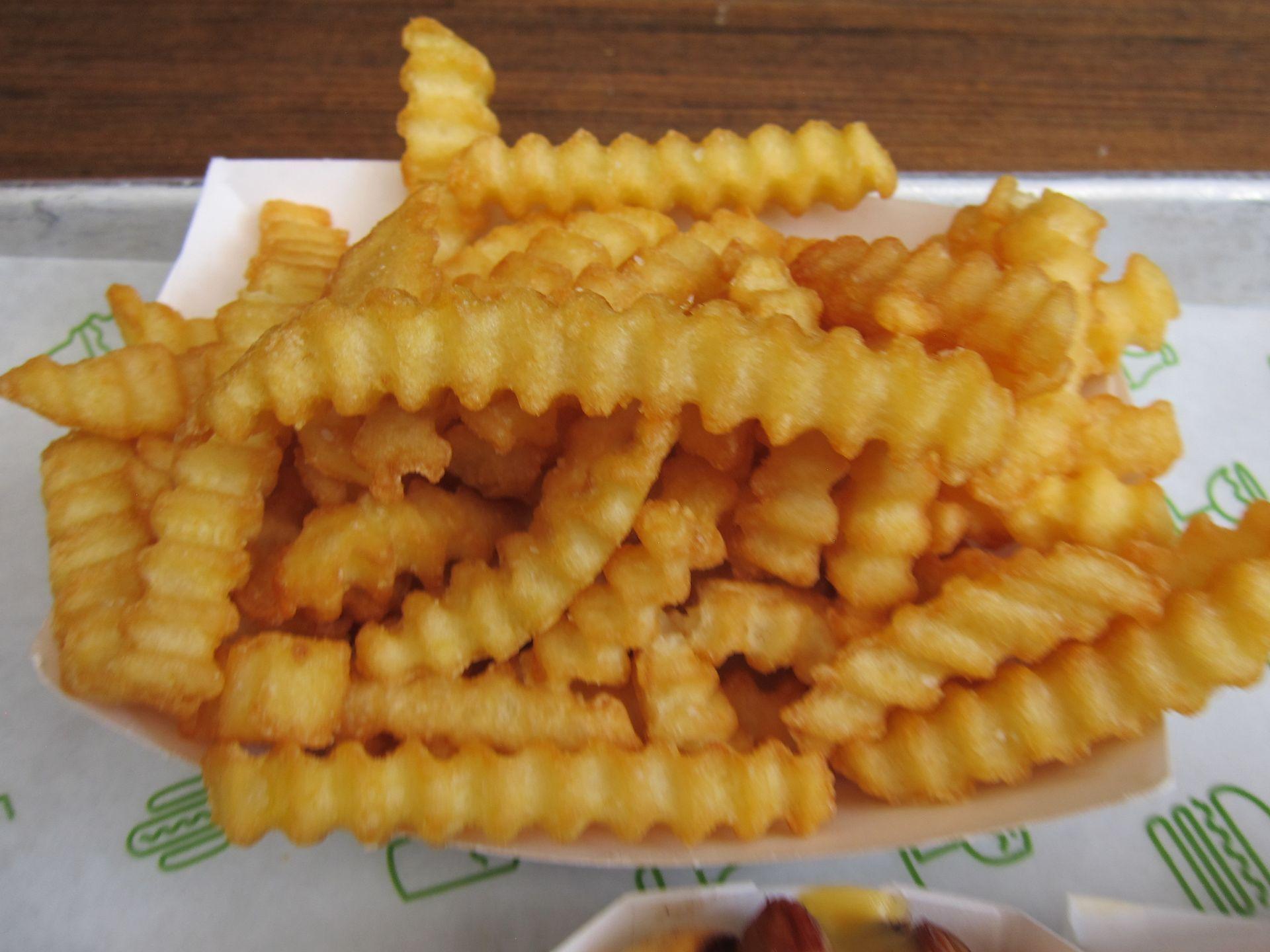 Crinkle Cut Fries