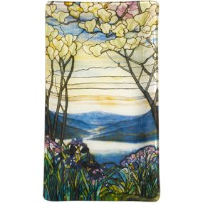 Louis C. Tiffany Magnolias and Irises Plate - Decorative Accents - Home Decor - The Met Store $25