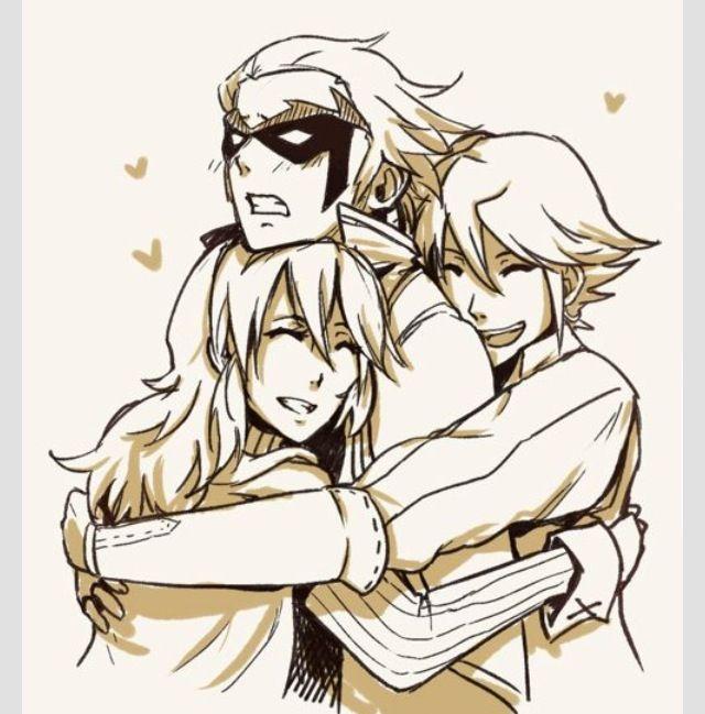 Come on, Gerome, Lucina and Inigo love you!