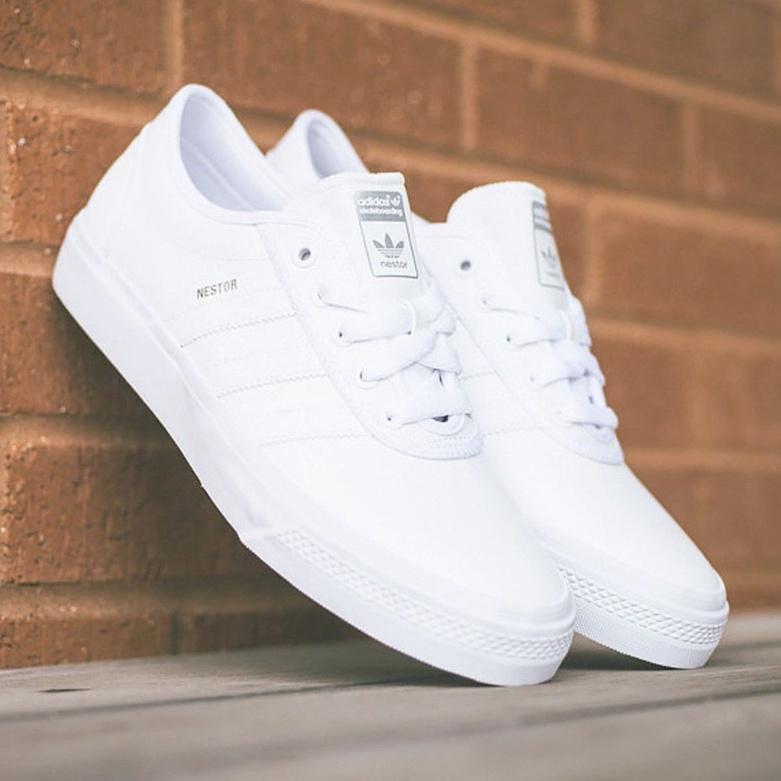 Adidas white shoes, Sneakers