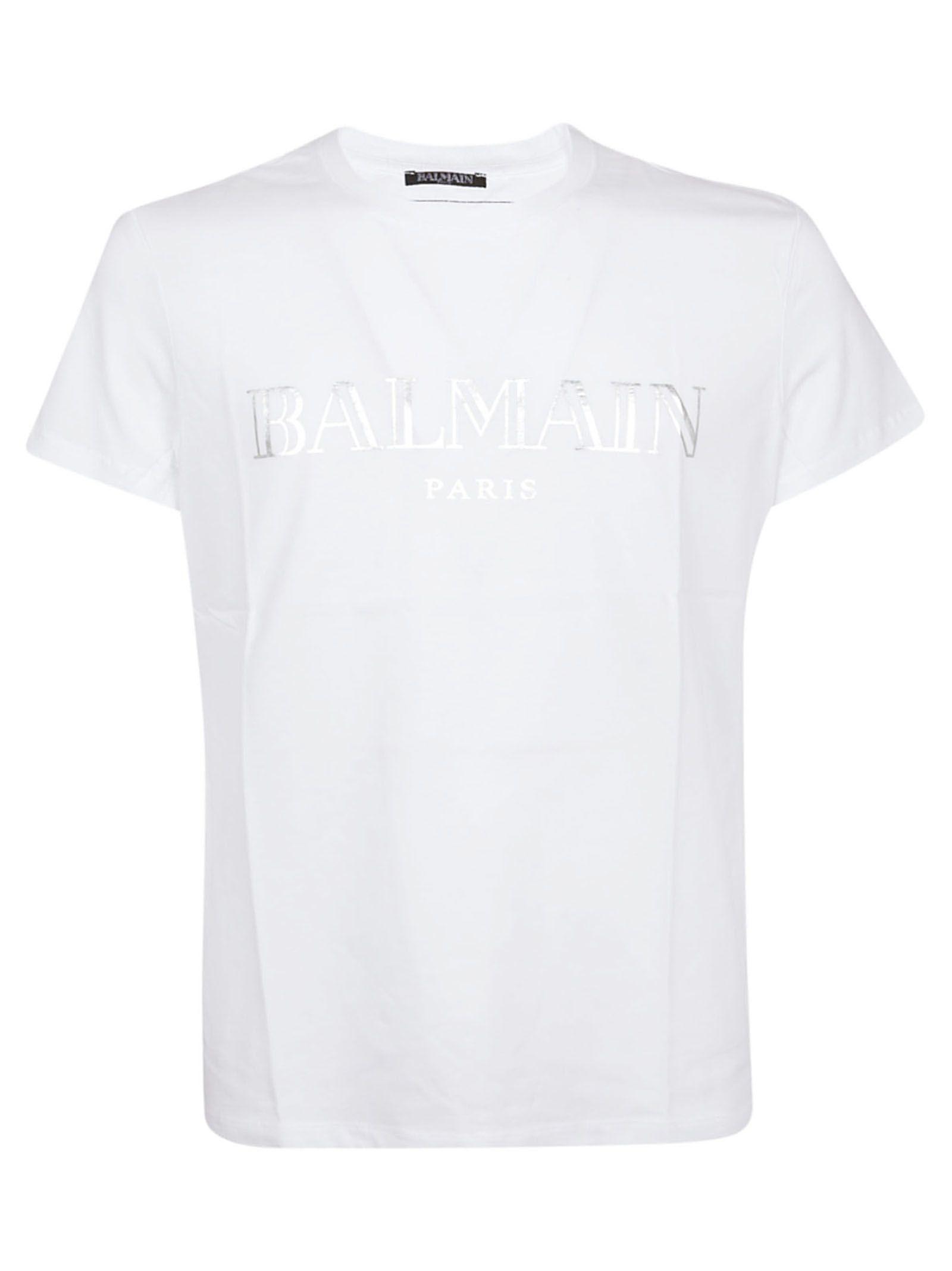 39e3b3a70e66e4 BALMAIN LOGO PRINT T-SHIRT. #balmain #cloth | Balmain in 2019 ...