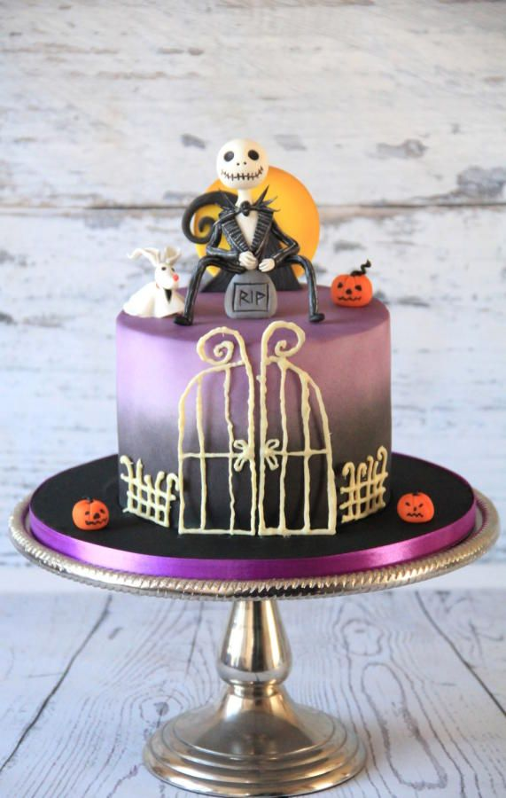 The Nightmare Before Christmas Cake By Cake Addict Artistry