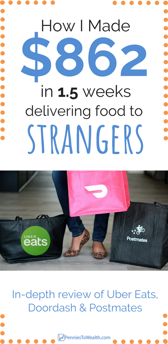 I Made 862 Delivering Food in 1.5 Weeks Uber Eats