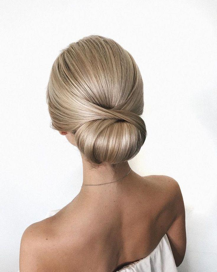 Hermosos peinados de novia para la elegante novia Updos para …