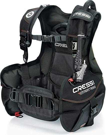 12 Weight Integrated Jacket Style Bcs: Cressi Start Pro Jacket Style Scuba Diving BCD Ideal For