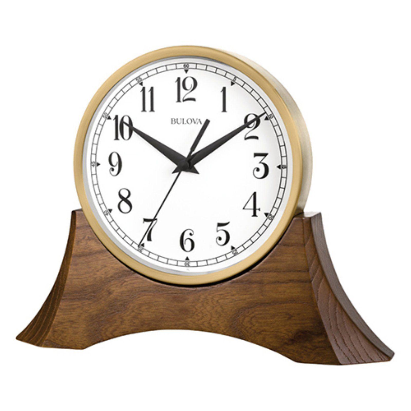 Bulova Mariner Desk Clock Table Clock Mantel Clock Clock