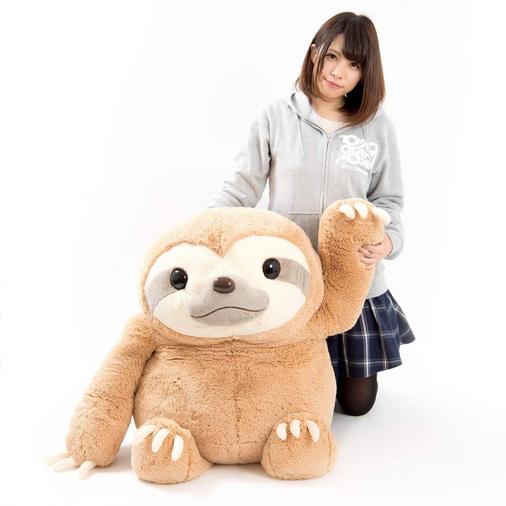 picture of Namakemono no Mikke Plush (Super Jumbo) 1