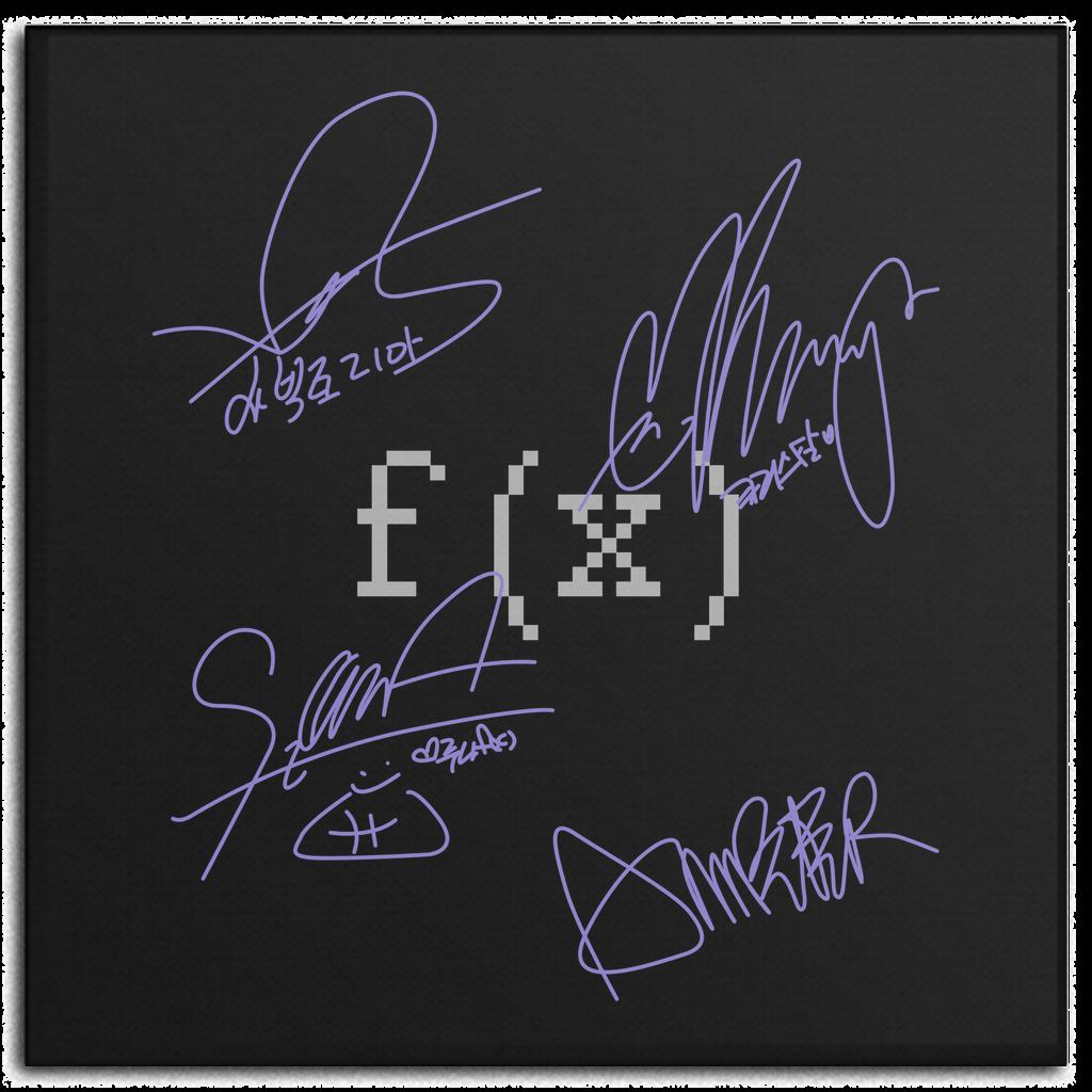 F X Autograph Tanda Tangan Tanda Kpop