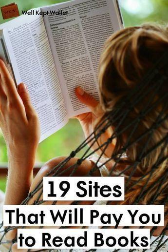 15 legitime Websites, die Sie für das Lesen von Büchern bezahlen   – work