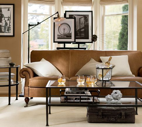 Tanner Coffee Table Pottery Barn My New Coffee Table Home Coffee Table Pottery Barn Leather Sofa