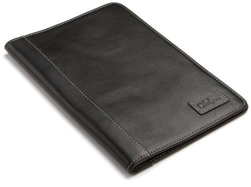 """Cole Haan Hand-Stained Pebble Grain Leather Kindle Cover with Hinge (Fits 6"""" Display, 2nd Generation Kindle), Black - http://leather-handbags-shop.com/cole-haan-hand-stained-pebble-grain-leather-kindle-cover-with-hinge-fits-6-display-2nd-generation-kindle-black/"""