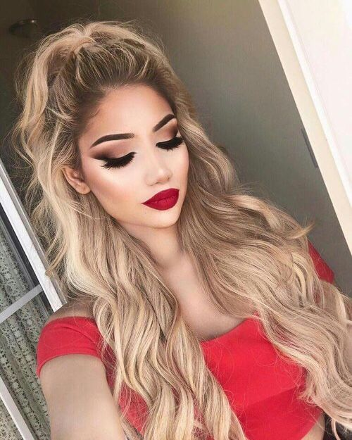 45 Red Lipstick Looks - Get ready for a new kind of MAGIC | Red ...