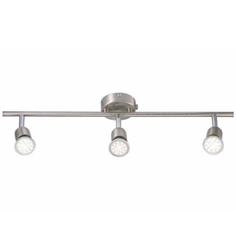 Nordlux Avenue LED Triple Spotlight Bar - Brushed Steel   Nordlux ...