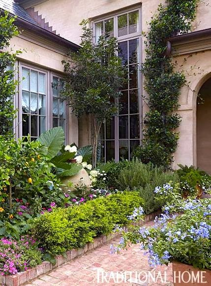 Vintage Mulberry: Courtyard Gardens | ~Le Jardin~ | Pinterest ...