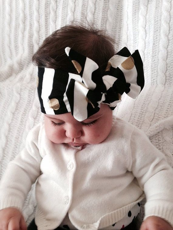 Baby Head Wrap Head Wrap Baby Turban Big Bow Oversized Bow