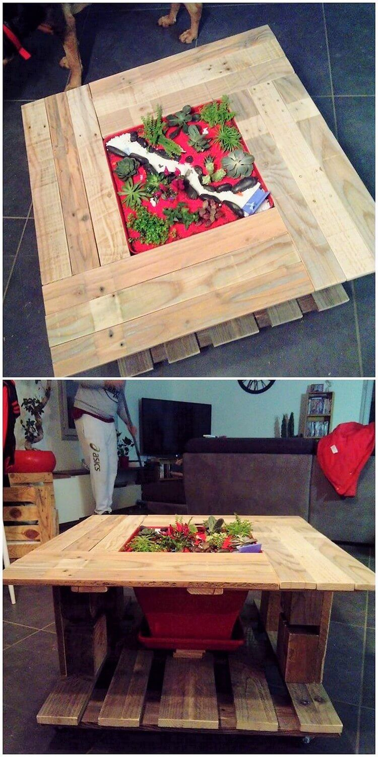 Best And Useful Wood Pallet Reshaping Ideas