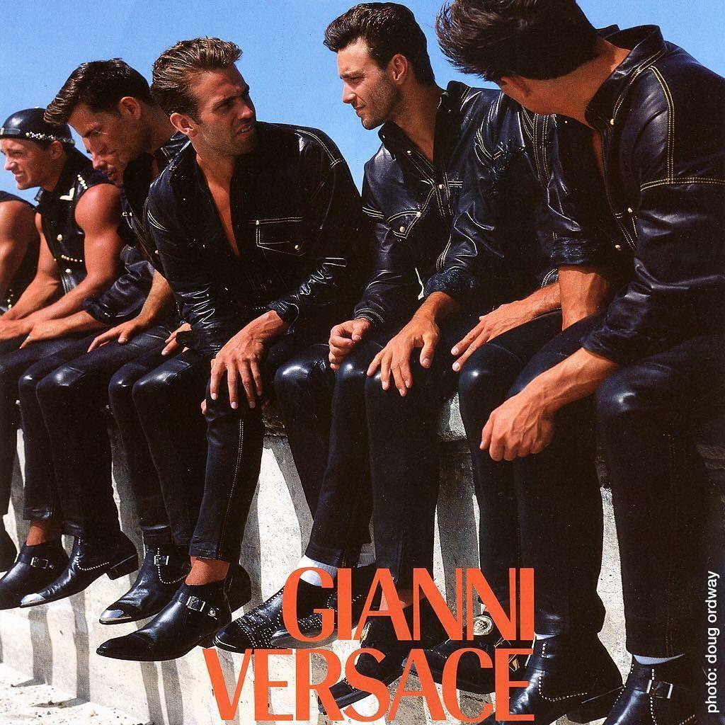 Always pack your leathers when going to South Beach! Lol #gianniversace #versace #dougordway #southbeach #miamibeach #irenemarie #richardpullman #brittbradford #nickconstantino #stewartmarriot