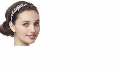 Dessy Accessories - Vintage Look Embellished Bridal Headband