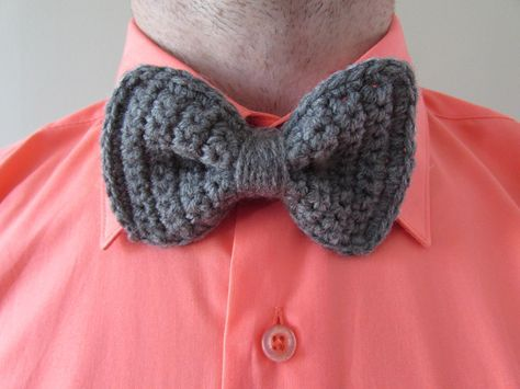 Crochet Bow Tie Free Pattern Make This A Fez And A Sonic Screw